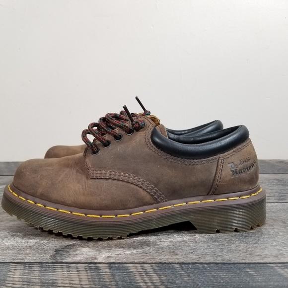 9efdff79605 Dr Martens Mens 9 Original Brown Leather 8053